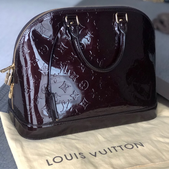 Louis Vuitton Handbags - Louis Vuitton Vernis Alma